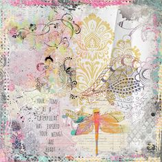 https://flic.kr/p/SNjkUQ | YOUR WINGS ARE READY | For a challenge at Oscraps. Elements from NBK Design, Pretty Dutch Design, and Pinkaddoo Designs. #collage #digitalcollage #digitalart #artjournal #digitalartjournaling