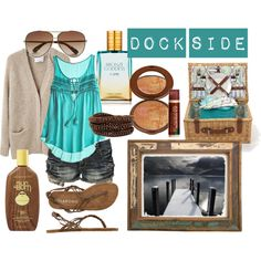 10 Picnics + What to Wear on Them: Picnic on the Dock