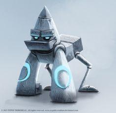 DAY 222. Robot Gorilla by Cryptid-Creations.deviantart.com on @deviantART
