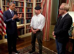 MythBusters from Barack Obama's Coolest Pop Culture Moments Obama tasked Adam…