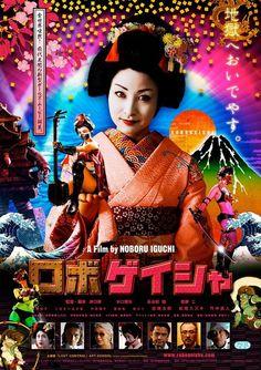 """Robo Geisha"", a Japanese movie in 2010."