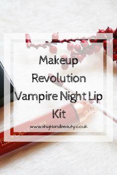 Makeup Revolution Vampire Night Lip Kit