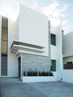 House Front Design, Modern House Design, Facade Design, Exterior Design, Residential Architecture, Commercial Architecture, Architecture Details, Modern Architecture, Casa Loft