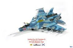 "1/72 Russian Navy Sukhoi Su-33 Flanker D ""Red 80"" 