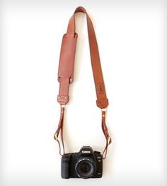 The James Leather Camera Strap