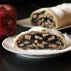 Štrúdľa ťahaná jablkovo maková Poppy, Waffles, Breakfast, Food, Candle, Morning Coffee, Meal, Essen, Poppies