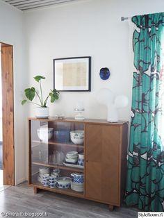 Happy House, Mid Century Decor, Marimekko, My Dream Home, Mid-century Modern, Living Room Decor, Kitchen Decor, Home And Garden, Interior