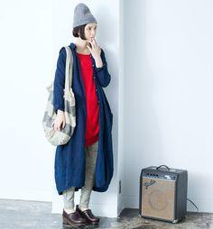【 リンネル3月号掲載 】春まで着まわし!パンツ&スカートスタイル