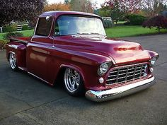 Custom Cars with Suicide Doors | ... DOOR 1955 custom chevy 3100 pickup on air ride with suicide doors and