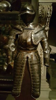 Brest plate and closed helm or armet helmet Museum stibbert florence italy medieval plate armor renaissance tournament knight