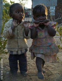 Namibia We all have to do something to help all those lovely children