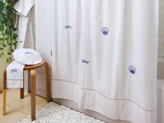 Beautiful shower curtains from Jacaranda Living. Elevate your bathroom today with beautifully handmade designs.