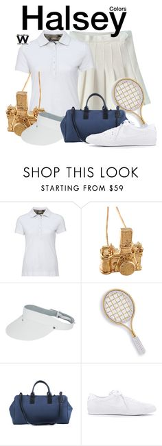"""""""Halsey"""" by wearwhatyouwatch ❤ liked on Polyvore featuring CO, Barbour, Kiel Mead Studio, Monreal, Marco Bicego, NIKE, music, wearwhatyouwatch and musicvideo"""