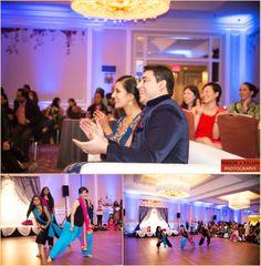 Sangeet celebration at Hyatt Regency Boston