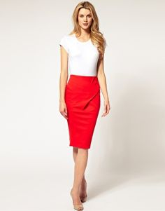 Pencil skirts: something else I can't get enough of.