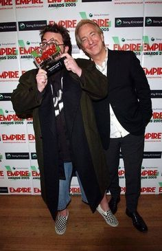 """Alan and Kevin Smith (Director and writer of """"Dogma""""; winner of Independent Spirit Award) 13th March 2005 Empire Film Awards, at the Guildhall in London (©Karwai Tang/ALPHA/GLOBE PHOTOS, INC.)"""