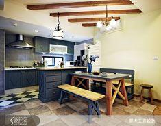 9款異國鄉村風開放式廚房設計-設計家 Searchome