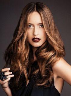Hair color caramel Hair colors Idea in 2019 Caramel Brown Hair Color, Caramel Hair, Brown Hair Colors, Caramel Color, Balayage Blond, Hair Color Balayage, 100 Human Hair, Human Hair Wigs, Trendy Hairstyles