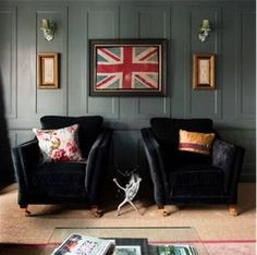 Coming to one of my walls in 2012 ... Union Jack, side by side, with Texas Lone Star (and they even match).
