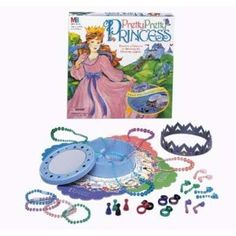 Reviewers say it's perfect for ages 4 to 6, easy to play, and a huge hit with their little girls.  There's also a Sleeping Beauty version that I think Audrey would like even more!  Gift Ideas for Girls