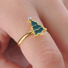 Find More Rings Information about 2015 New Arrival Gold Plated Christmas dark…