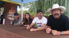 Amber Marshall, Alisha Newton, Graham Wardle and Shaun Johnston at the 2015 Cruise With A Cause
