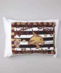 Personalized Texas State Bobcats Pillow Case