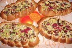Rýchla chuťovka, ak príde nečakaná návšteva (fotorecept) Slovak Recipes, 20 Min, Deli, Hot Dog Buns, Baked Potato, Ham, Sushi, Pizza, Sandwiches