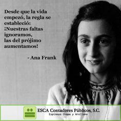 Ana Frank El Muro De Sus Frases Inspiracion Anne Frank Quotes