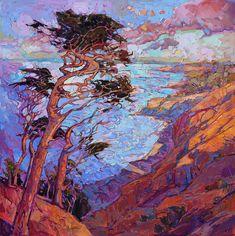 Cypress Clouds by Erin Hanson