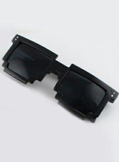 Fashion Black Geometric Sunglasses US$13.30