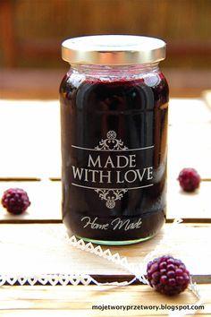 Candle Jars, Mason Jars, Polish Recipes, Jam Recipes, Love Home, Orange, Summer Recipes, Preserves, Blackberry