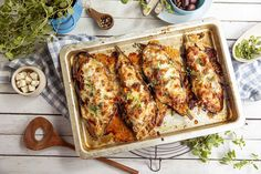 Papoutsakia – fylt aubergine Chicken Wings, Meat, Food, Meals, Yemek, Eten, Buffalo Wings