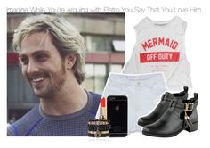 """Imagine While You're Arguing with Pietro You Say That You Love Him"" by xdr-bieberx ❤ liked on Polyvore"