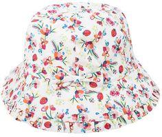 Mini Club Girls Hat Pink Floral