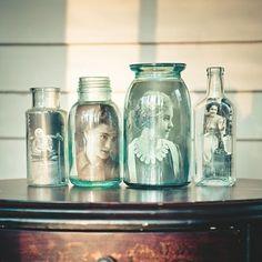 Photos in a Jar
