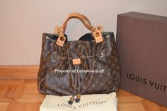 Authentic LOUIS VUITTON Limited Edition Monogram IRENE Shoulder Tote Bag  #LouisVuitton #TotesShoppers