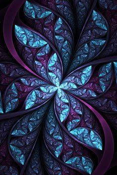 "Fractal Art: ""Elliptic Flow"" by Satania on Deviant Art"