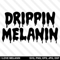 Black Girl Art, Black Girl Magic, Melanin Quotes, Graffiti Lettering Fonts, Typography, Black Girl Shirts, New York Graffiti, Image Paper, Retro Font
