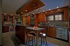 Contemporary Tudor Remodel - contemporary - kitchen - other metro - Ginkgo House Architecture
