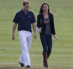 Kate Middleton Watches Her Royal Boyfriend At A Polo Match, May 2009
