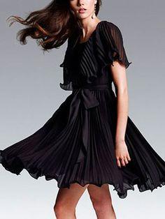 Victoria's Secret Flutter-Sleeve Dress