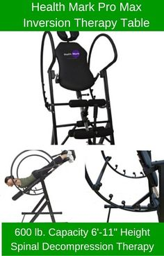 Learn About The Health Mark Pro Max Inversion Table At ReviewsRightNow.com