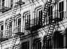 NYC fire escapes, photo by Steven Wright http://wp.me/p1VYcK-d9