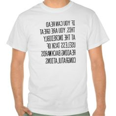 =>>Cheap          Sarcastic Backwards Shirt           Sarcastic Backwards Shirt This site is will advise you where to buyDeals          Sarcastic Backwards Shirt please follow the link to see fully reviews...Cleck Hot Deals >>> http://www.zazzle.com/sarcastic_backwards_shirt-235856578243574444?rf=238627982471231924&zbar=1&tc=terrest