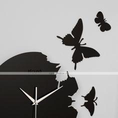 Reloj original con mariposas - EUR € 24.74