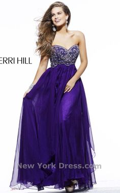 IN LOVE...deep purple with embellished sweetheart bodice