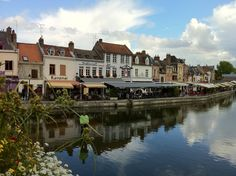 St Leu restaurant & bar district, Amiens, France