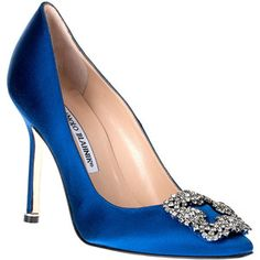 Blue Shoes - Shop for Blue Shoes at Polyvore (Carrie's best shoes the Whole show!) I'm gonna have them