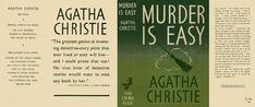 Murder Is Easy. Agatha Christie.